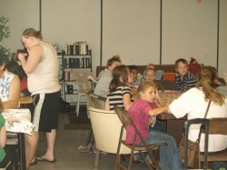 Kids Bingo is one of many activities held at SFR