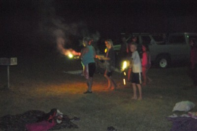 adult supervision was used with sparklers