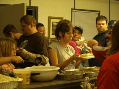 community potluck dinner